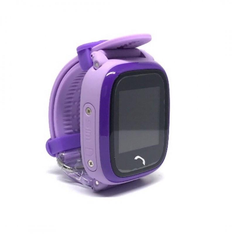 Montre connectée Waterproof pour enfants - Violet (4124)