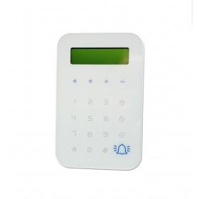 Clavier pour alarme sans fil avec écran LCD