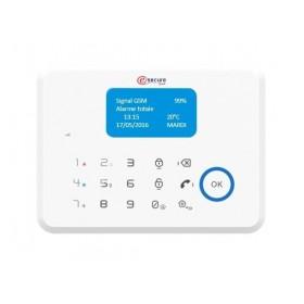 Centrale d'alarme G6 blanche avec clavier tactile