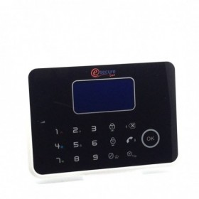 Centrale d'alarme A9 noire pour protection domestique