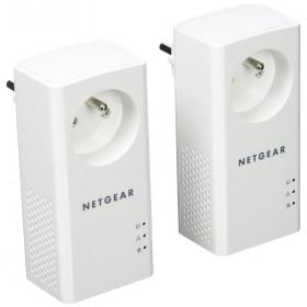 NETGEAR - Pack de 2 CPL Gigabit (1000Mbps) avec prise filtrée (4248)