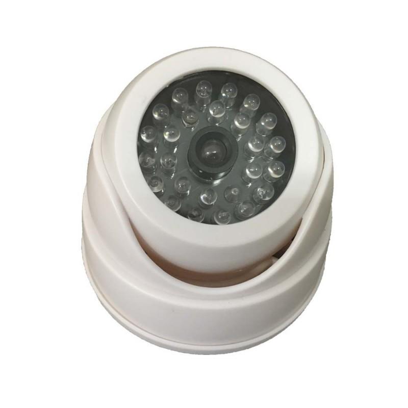 caméra de surveillance factice avec led (3712)