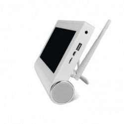 Caméra de surveillance sans fil wifi intérieure rotative avec détection de mouvement et application mobile (2553)