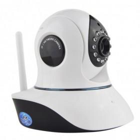 Caméra de surveillance sans fil wifi intérieure rotative avec détection de mouvement et application mobile (2557)