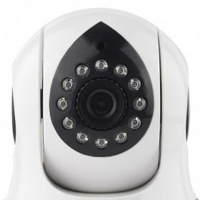 Caméra de surveillance sans fil wifi intérieure rotative avec détection de mouvement et application mobile (2554)