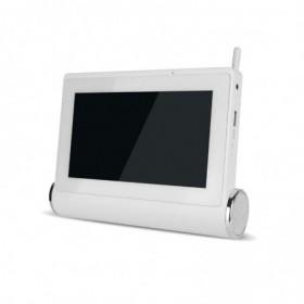 Kit de vidéosurveillance Wifi avec tablette tactile multimédia + caméras intérieure et extérieure HD (4099)