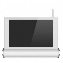 Système de vidéosurveillance Wifi avec tablette tactile multimédia + 4 caméras intérieures HD (2558)