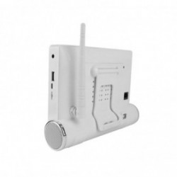systeme de vidéosurveillance Wifi avec tablette tactile multimédia + 2 caméras intérieures HD + 2 caméras extérieures HD (2583)