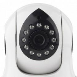 Caméra sans fil wifi intérieure rotative detection de mouvement application mobile (2591)