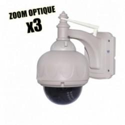 camera dome de videosurveillance wifi vision nocturne et application iphone et android (2662)