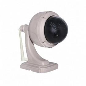 Pack de vidéosurveillance avec dôme motorisé extérieur HD WiFi (2677)