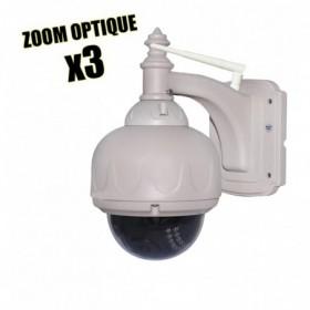 camera dome de videosurveillance wifi vision nocturne et application iphone et android (2671)