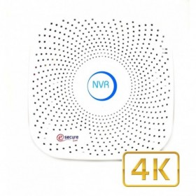 Enregistreur vidéo IP 9 caméras ONVIF 4K H.265 (4002)