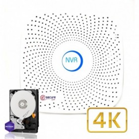 Enregistreur vidéo IP 9 caméras ONVIF 4K H.265 (4155)