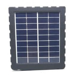 panneau solaire avec batterie integree pour camera autonome