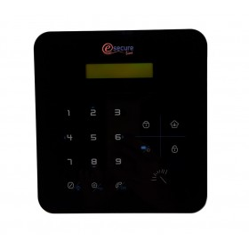 centrale d'alarme gsm design noire
