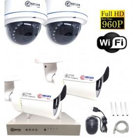 kit complet de caméra pour surveillance maison