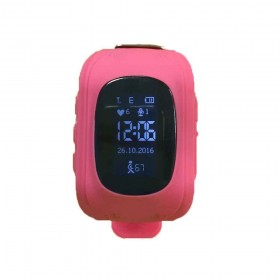 Montre GPS et GSM rose (2738)