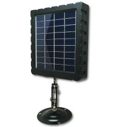 Panneau solaire caméra camouflée avec rotule de fixation