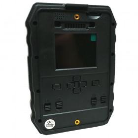 Caméra chasseur camouflée : clavier de commande