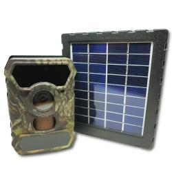Caméra camouflée avec panneau solaire d'alimentation