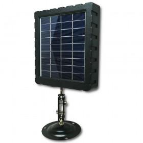 Panneau solaire sur support rotatif