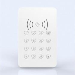 Clavier déporté sans fil RFID vue de face (727)