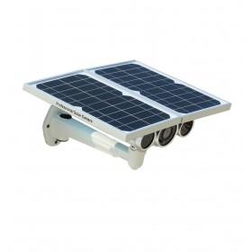 Caméra IP HD 720P Wifi autonome sans câblage à rechargement solaire