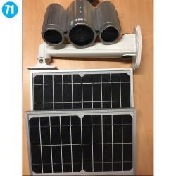 Caméra autonome à chargement solaire
