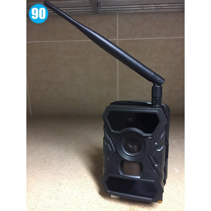 Caméra camouflée noire avec transmission GSM