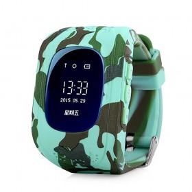 Smart Watch camouflé vert
