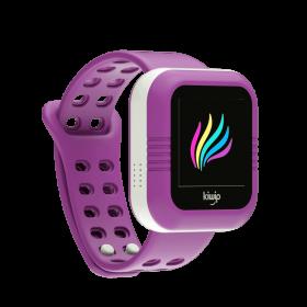 Montre KiwipWatch mauve, montre connectée pour enfant