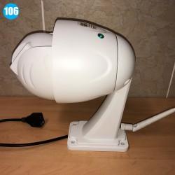 Dôme motorisé extérieur IP Full HD 1080p wifi, zoom x5 et mémoire interne