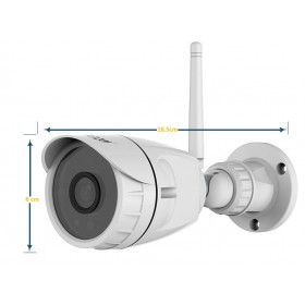 Détail et dimensions caméra tube Vstarcam