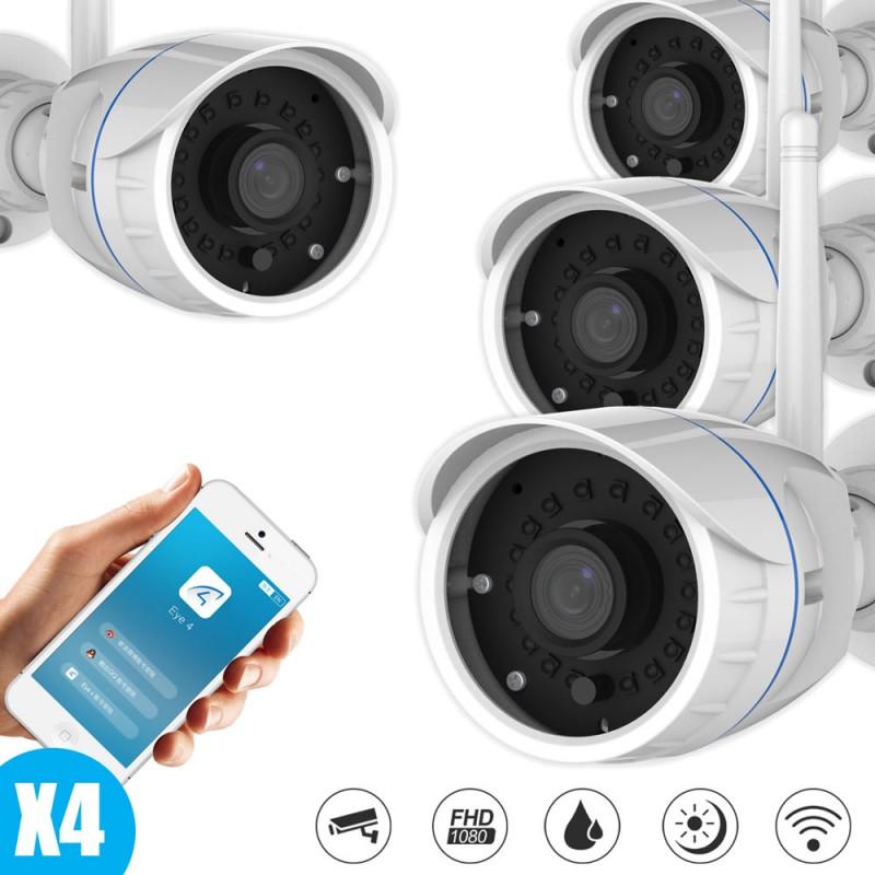 Pack caméras IP vidéo surveillance Vstarcam