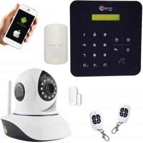 Système d'alarme avec caméra vidéo HD