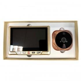 Judas de porte numérique reconditionné grand angle HD avec détection de mouvement