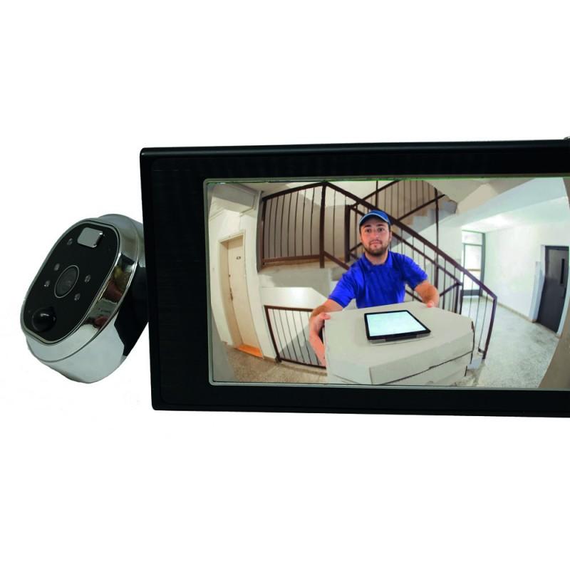 judas numérique avec écran tactile