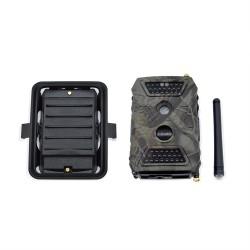 Caméra autonome GSM, IP WiFi, FULL HD 1080p, IR, détecteur de présence