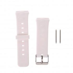 bracelet blanc pour montre connectée