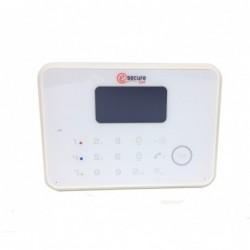 centrale d'alarme tactile blanche design (4673)