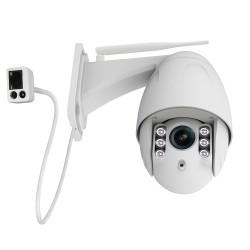 Caméra dôme pour video-surveillance extérieure motorisée full hd