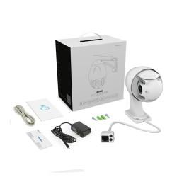 Pack caméra de vidéo-surveillance extérieure full hd motorisée