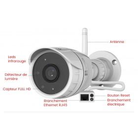 mini camera exterieure full hd