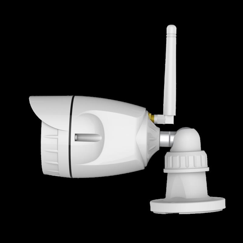Alarme G6 sans fil GSM et RTC + Caméra IP Wifi rotative - Appartement T2 / T3