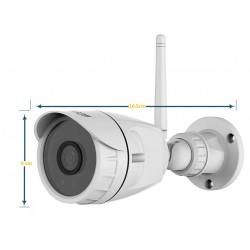 Kit de 4  caméras IP de vidéo-surveillance intérieur/extérieur pour la maison