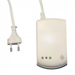 vue arrière centrale d'alarme gsm rtc tactile (3154)
