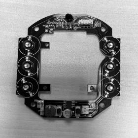 Prestation réparation de leds caméras extérieures