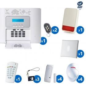 Pack alarme radio PowerMaster30 Visonic - haut de gamme NFA2P - KIT 7