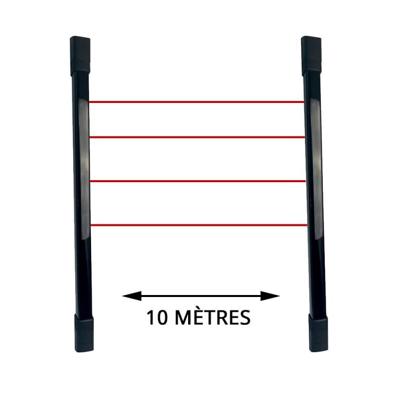 Barrières infrarouge extérieures radio sans fil pour gamme PowerMaster Visonic